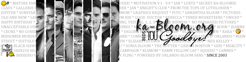 ka-Bloom.org Forum  (Powered by Orlando Bloom Fans)